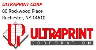Thanks to Ultra Print Corporation